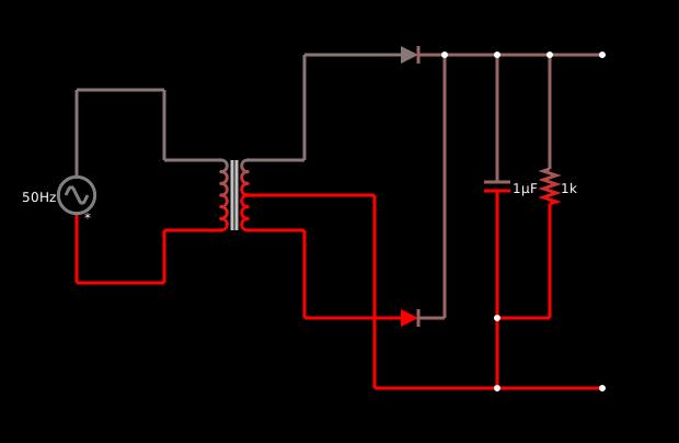 Fullwave-circuit