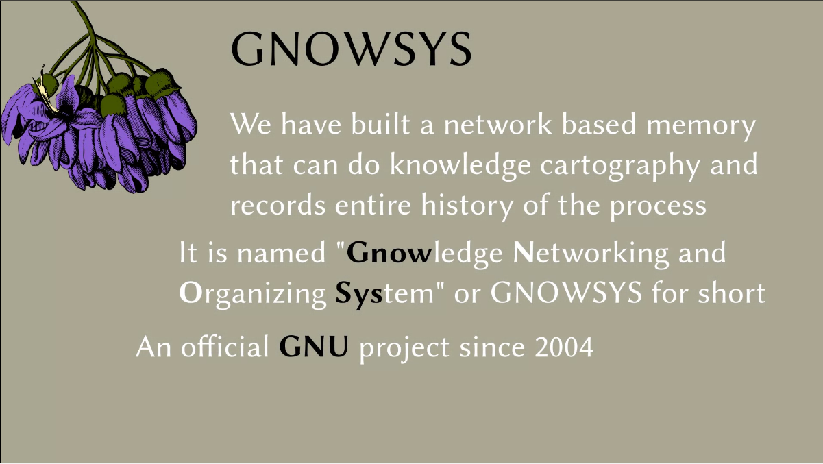 GNOWSYS